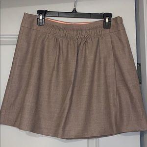 Khaki J. Crew wool skirt